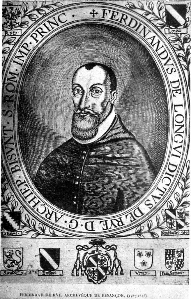 Mgr de Rye, archevêque de Besançon
