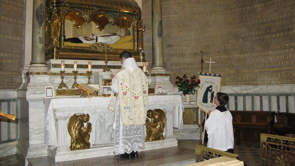Pèlerinage à Ars (20 juin 2009)