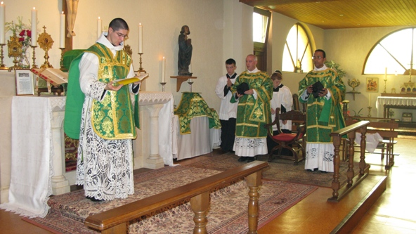 Sermon pour la fête de la Sainte Trinité (3 juin 2012)