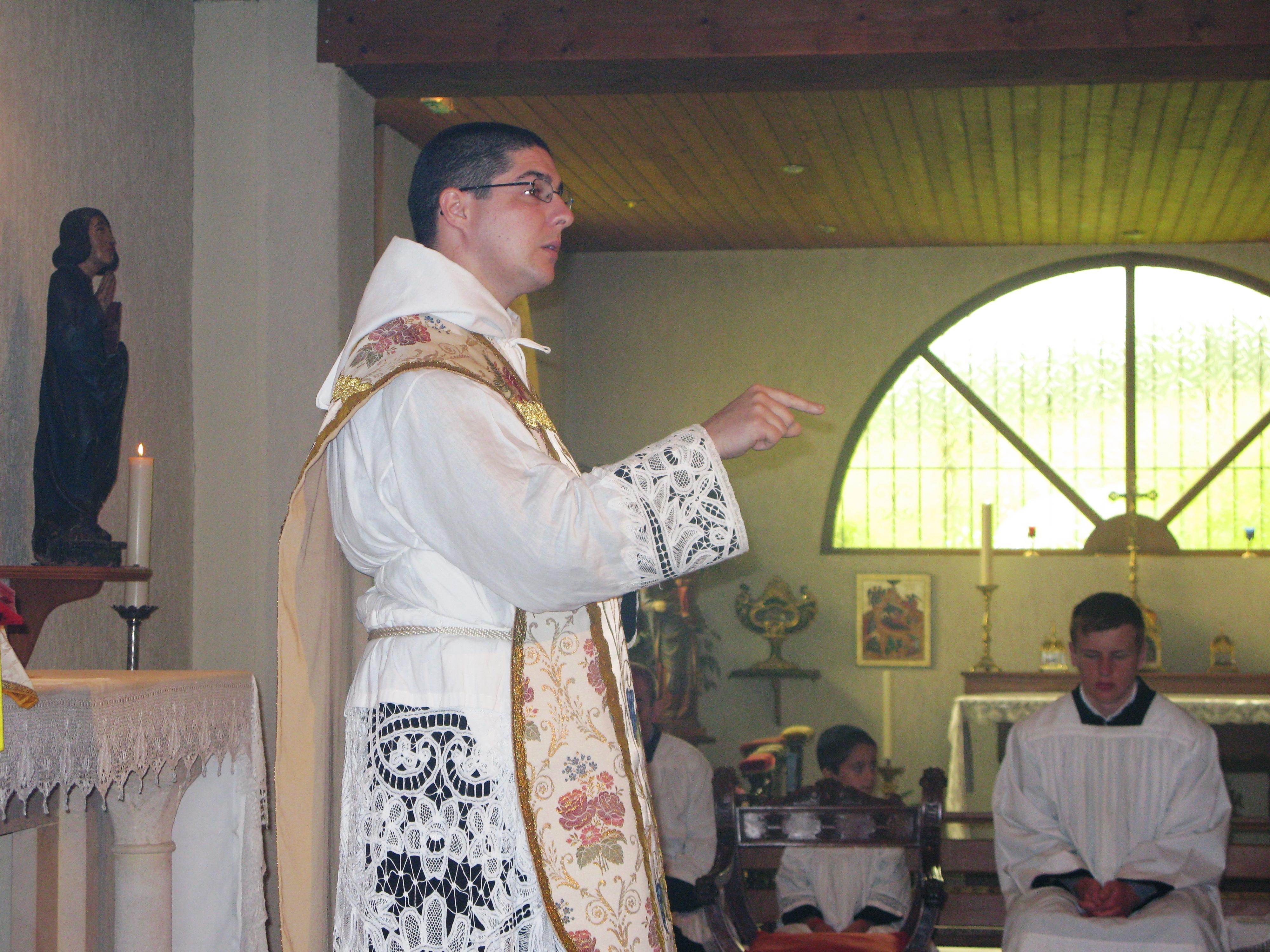 Sermon pour la solennité du Coeur Très Pur de Marie (15 juillet 2012)