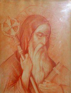 Confinement jour 5 : Saint Benoît, Abbé
