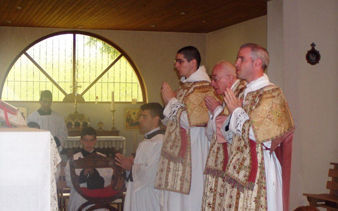 Un sermon du Père Verrier