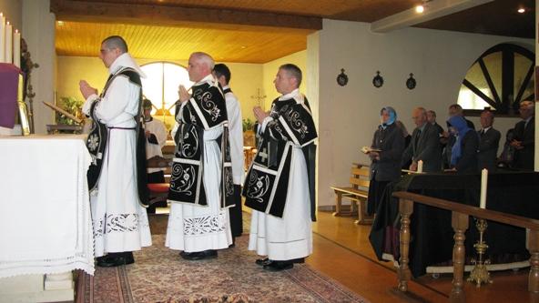 Obsèques de l'Abbé Pierre Verrier