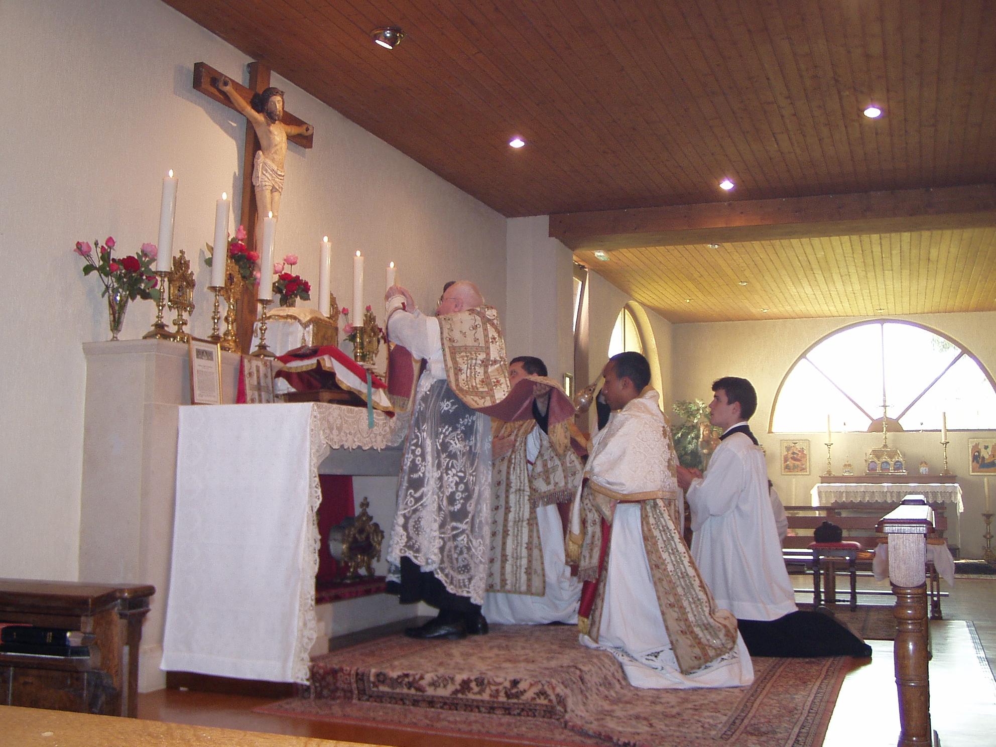 Mise à jour des honoraires de Messe