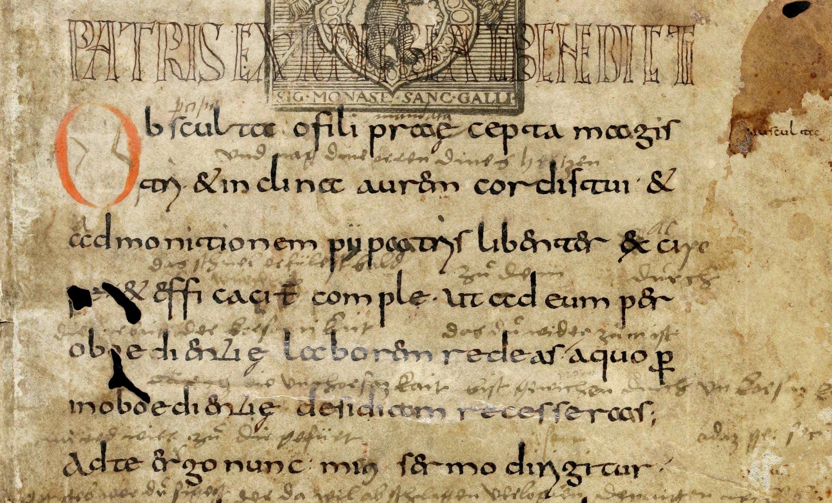 La Règle de Saint Benoît