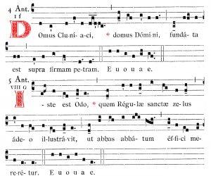 Antiennes pour Saint Odon