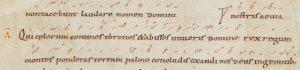 Antienne Qui caelorum
