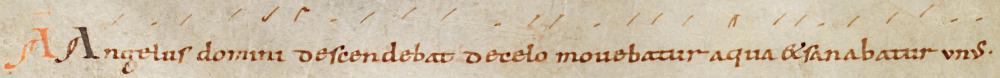 Antienne Angelus Domini descendebat