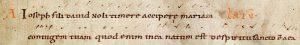 Antienne Ioseph fili David