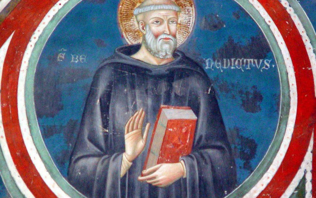 21 mars — Notre Bx Père Saint Benoît, Abbé